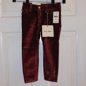 DL1961 Chloe Crush Velvet Skinny